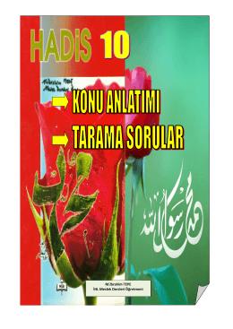 M.İbrahim TEPE İHL Meslek Dersleri Öğretmeni