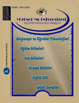 SON SAYI - Yüzüncü Yıl Üniversitesi Eğitim Fakültesi Dergisi