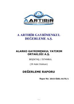 Alarko GYO A.Ş. Etiler Alkent Sitesi