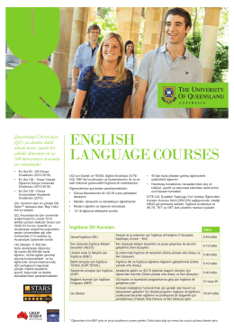 englısh language courses - Institute of Continuing & TESOL Education