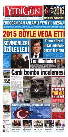 Türkiye için 2016`da bölgesel liderlik tahmini