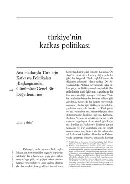 6 - Yeni Türkiye