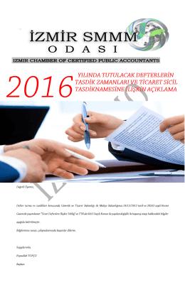 """2016 yılı defter tasdikleri"""" pdf için lütfen tıklayınız"""