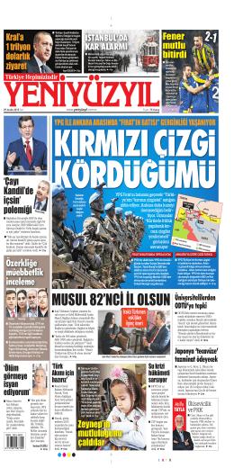 MUSUL 82`NCİ İL OLSUN - Yeni Yüzyıl Gazetesi