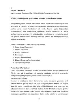Prof.Dr. Okan SOLAK - AKÜ Göğüs Cerrahisi