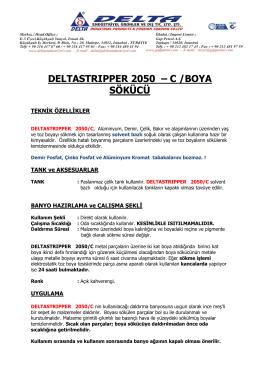 delta stripper 2050 c