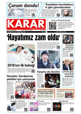 2 Ocak 2016.qxd - Kesin Karar Gazetesi