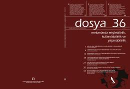 Dosya 36 - Mimarlar Odası Ankara Şubesi
