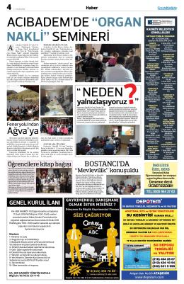 Ağva`ya - Gazete Kadıköy