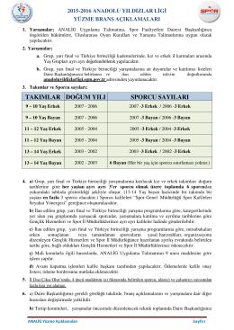 Talimat - Analig