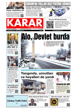 31 Aralık 2015.qxd - Kesin Karar Gazetesi