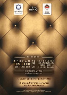 tanıtım broşürü - Ege Otel Ekipmanları Fuarı