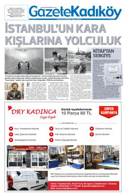 KİTAPTAN SERGİYE - Gazete Kadıköy