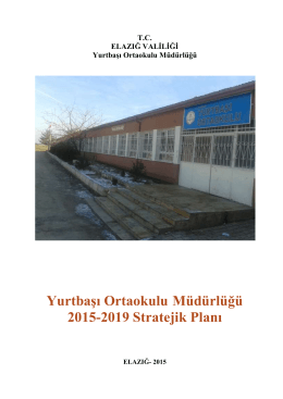 Yurtbaşı Ortaokulu Müdürlüğü 2015