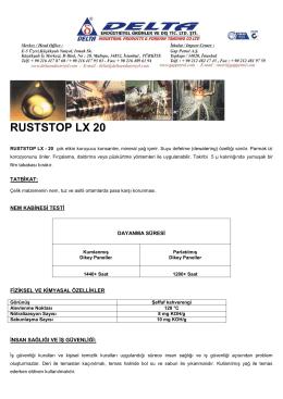 RUSTSTOP LX 20