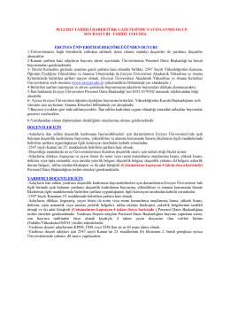 30/12/2015 tarihli habertürk gazetesinde yayınlanmış olup