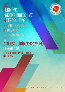 1.DUYURU - Türkiye Endokrinoloji Metabolizma Derneği