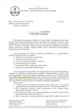 Kilis Milli Eğitim Müdürlüğü