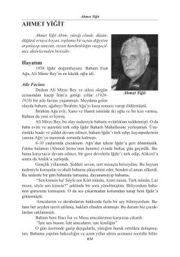 50. Ahmet Yiğit