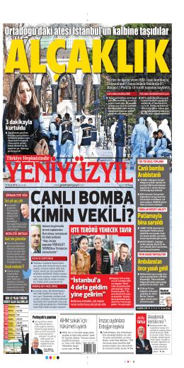 Ortadoğu`daki ateşi İstanbul`un kalbine taşıdılar