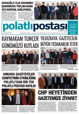 12.01.2016 tarihli e-Gazete