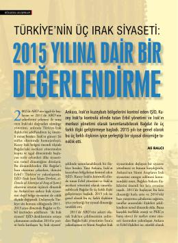 türkiye`nin üç ırak siyaseti