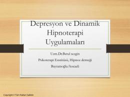 Betül Sezgin Depresyon ve Dinamik Psikoterapi