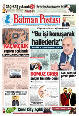 Çınar City açıldı