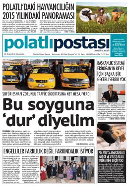 13.01.2016 tarihli e-Gazete