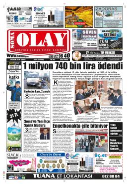 M - Soma Olay Gazetesi