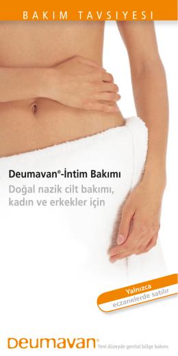 Deumavan®-İntim Bakımı Doğal nazik cilt bakımı, kadın ve erkekler
