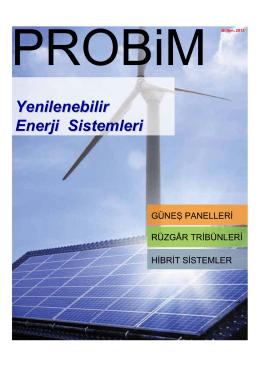 Yenilenebilir Enerji Sistemleri