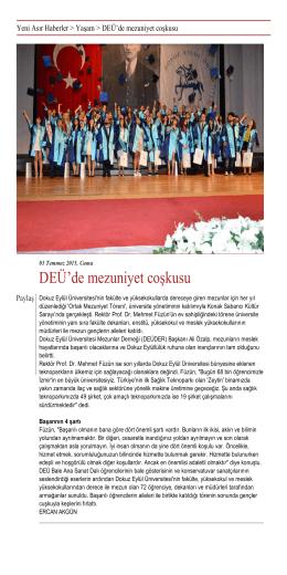 İndir  - Dokuz Eylül Üniversitesi Mezunlar Derneği