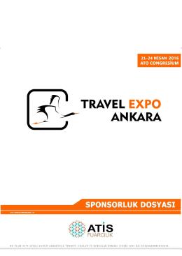 Sponsorluk Dosyası - Travel Expo Ankara
