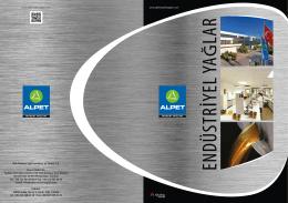 Alpet Endüstriyel Katalog