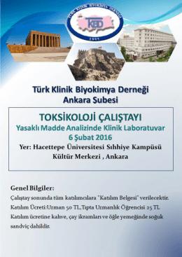 tıklayınız. - Türk Klinik Biyokimya Derneği