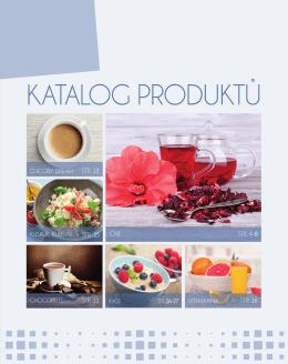 KATALOG PRODUKTŮ - AG FOODS Group as