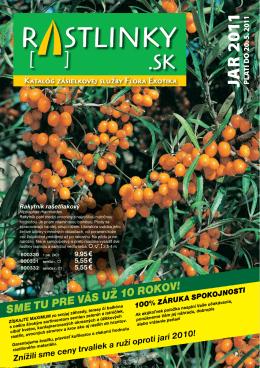 JA R 2 011 - FloraExotika.sk