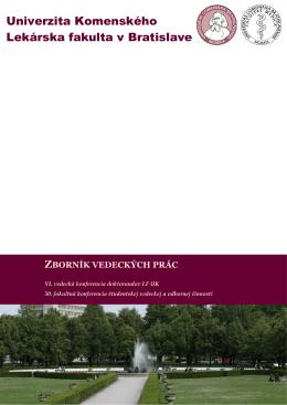 2011 - SVOC - Univerzita Komenského
