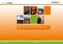 Motivačná štúdia pre región Tokaj
