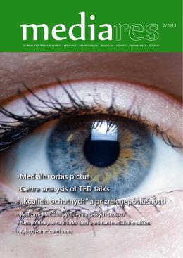 Media res 2/2013 – pdf verze vhodná k zobrazení na obrazovce