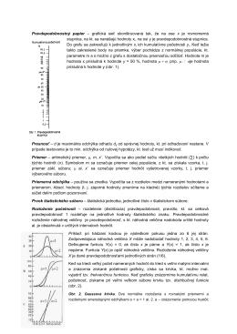 Pravdepodobnostný papier – grafická sieť
