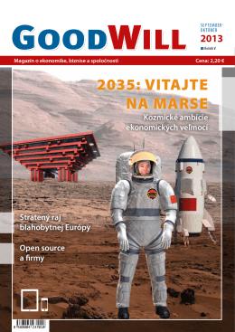 2035: VITAJTE NA MARSE