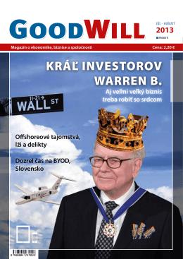 KRÁĽ INVESTOROV WARREN B.