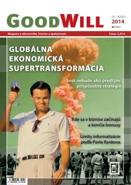 GLOBÁLNA EKONOMICKÁ SUPERTRANSFORMÁCIA