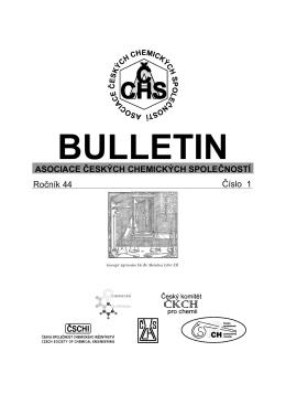 Zprávy - Chemické listy