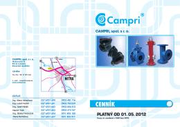 CAMPRI cennik PVC HDPE 02b 2012 VYR.indd