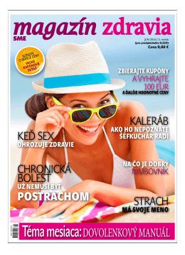 Jún 2014 - Magazín Zdravia