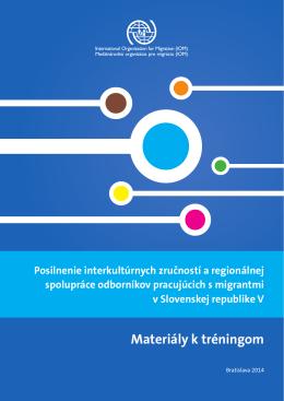 Materiály k tréningom - Migračné informačné centrum