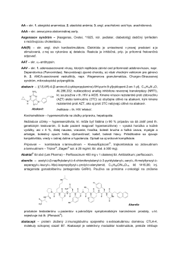 aciklovir – inhibítor DNA-polymerázy, drivát